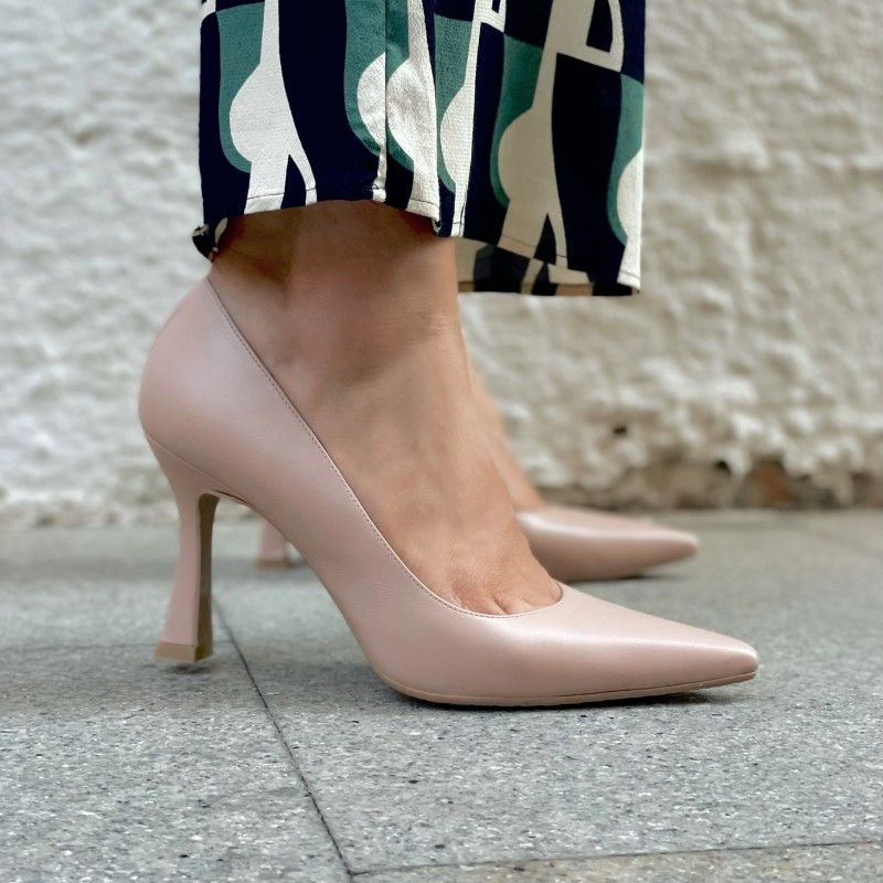 LODI zapato de salón color nude